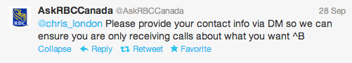 RBC Response
